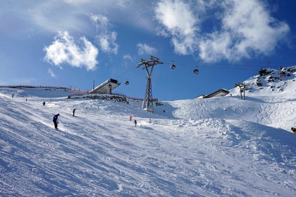 Solden ski resort all extreme