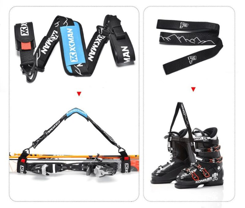 XCMAN Alpine Ski, Poles and Boots Carrier Straps