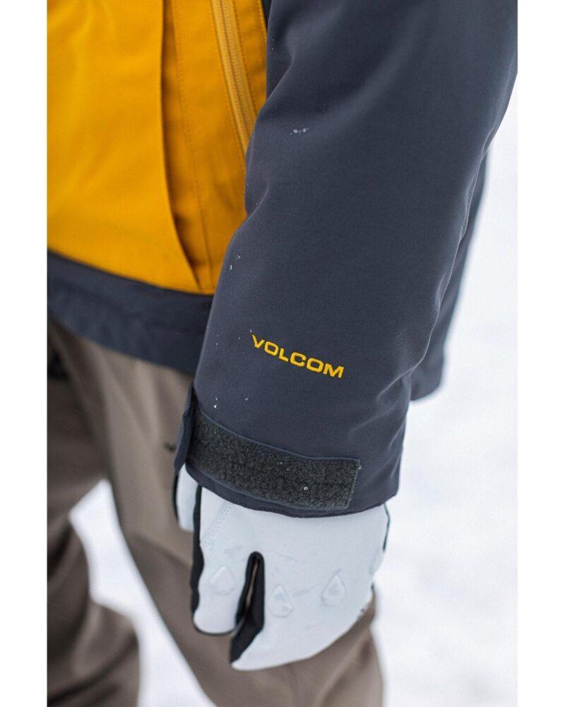volcom men deadly stones jacket