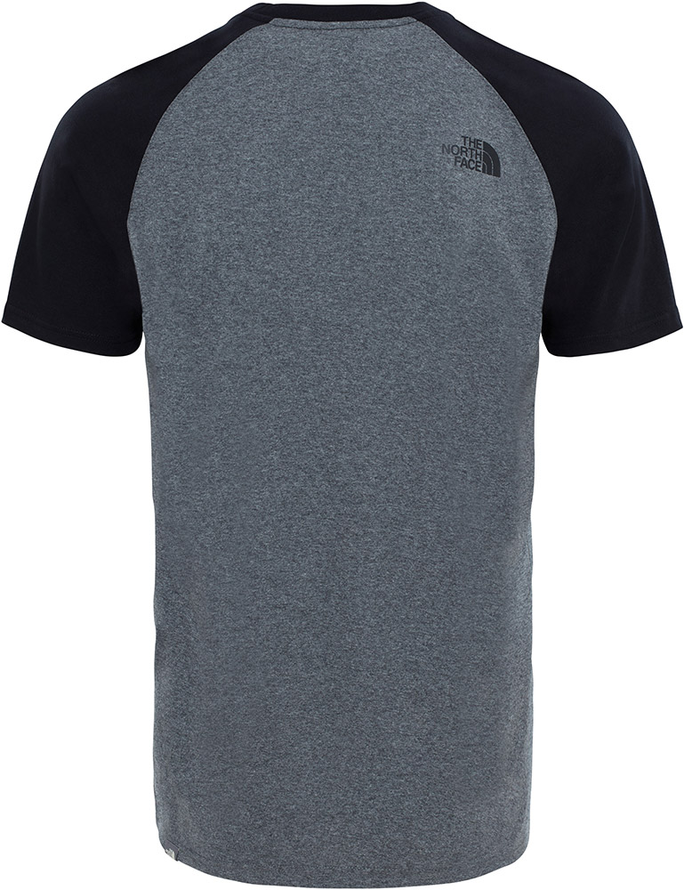 the north face t shirt gray