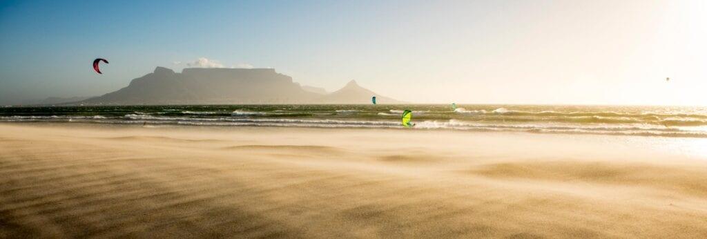 Cape Town kiteboard