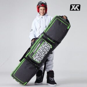 XCMAN Roller - Snowboard Wheeled Adjustable ABS Protective Bag