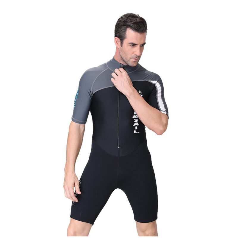 Dive & Sail - Men's Short Surfing Wetsuit