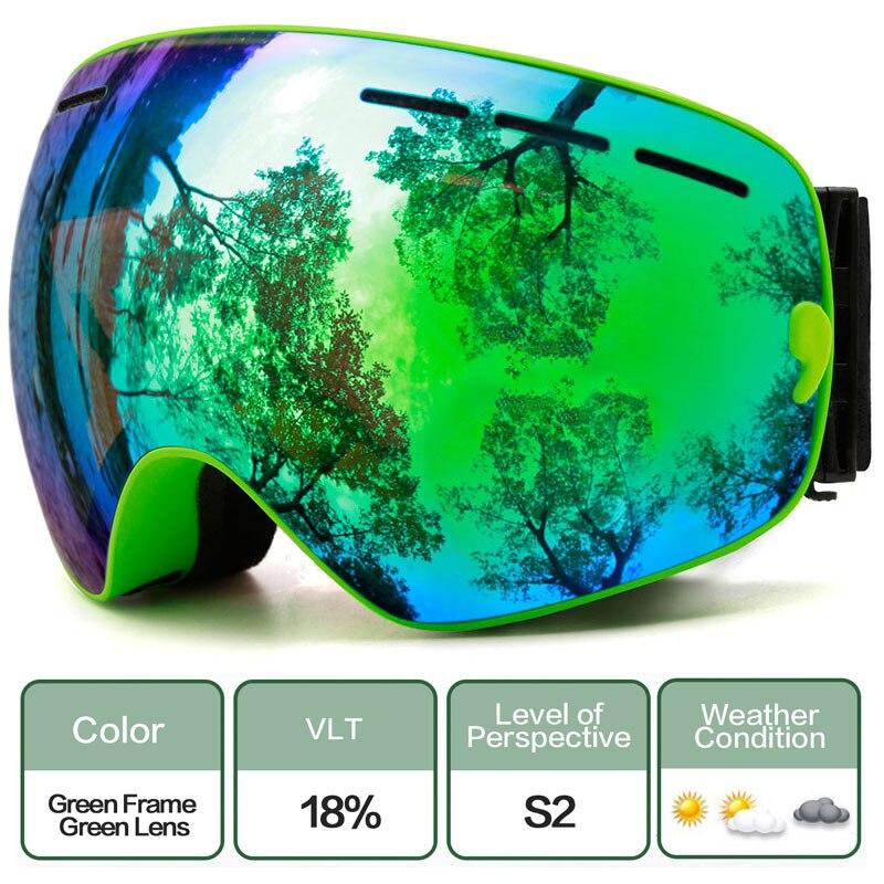MAXJULI Space OTG Ski & Snowboard Goggles