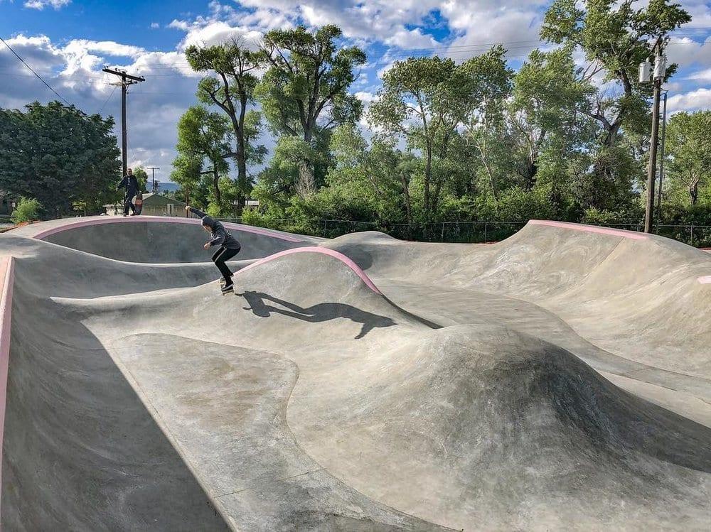 Livingston Skatepark all extreme
