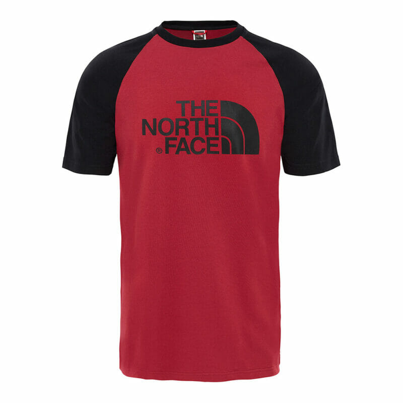 The North Face red tee