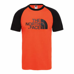 The north face orange tee