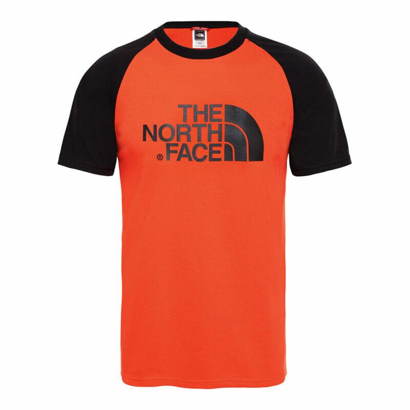 The north face orange tee