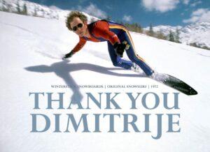 snowboarding dimitrije milovich