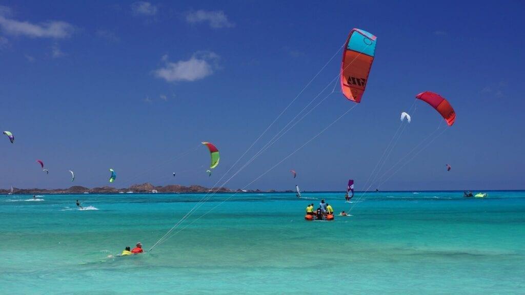 kitesurfing fuerteventura spain