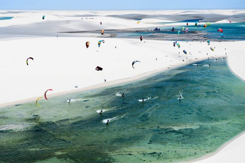 kitesurfing jericoacoara brazil