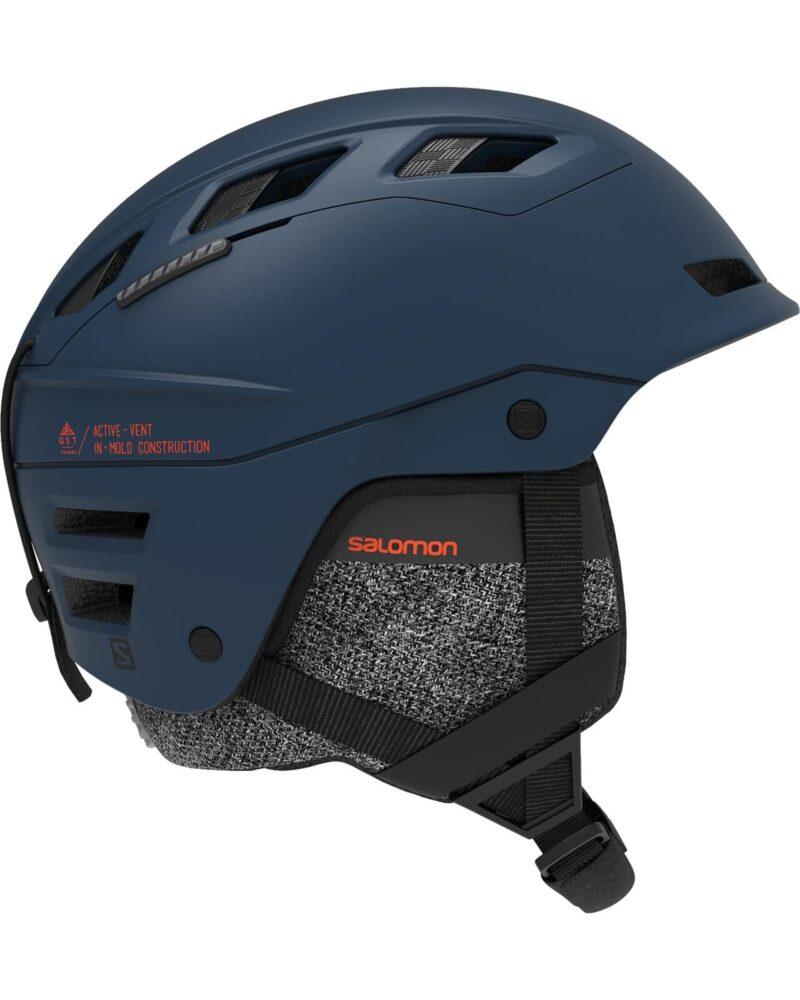 salomon helmet blue