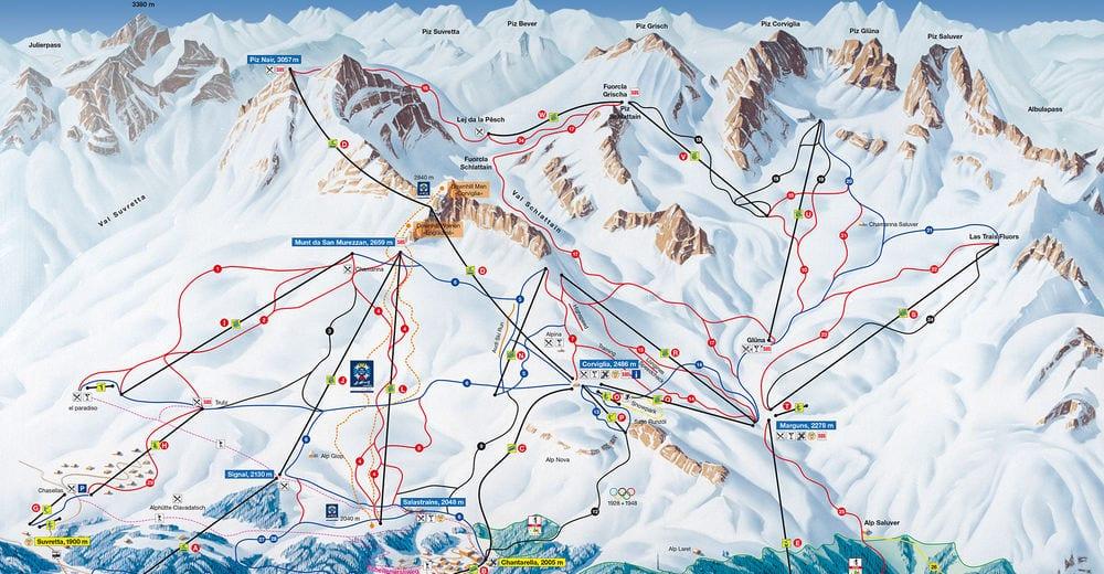 st. Moritz map