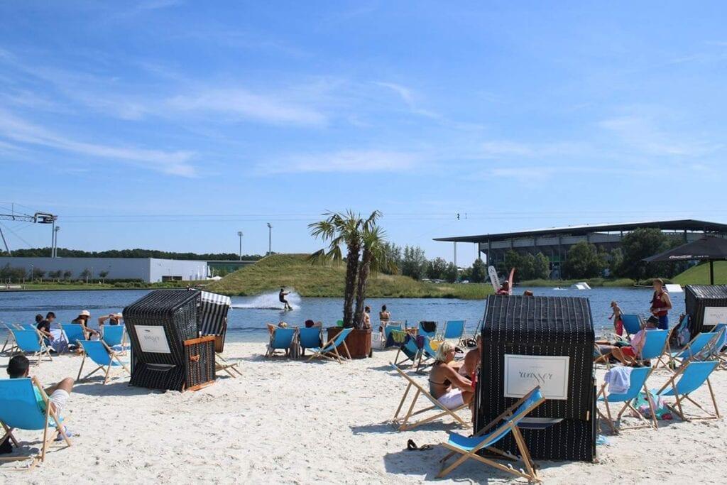 Wolfsburg Wakepark Germany Beach