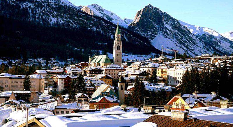 Cortina d'Ampezzo ski town