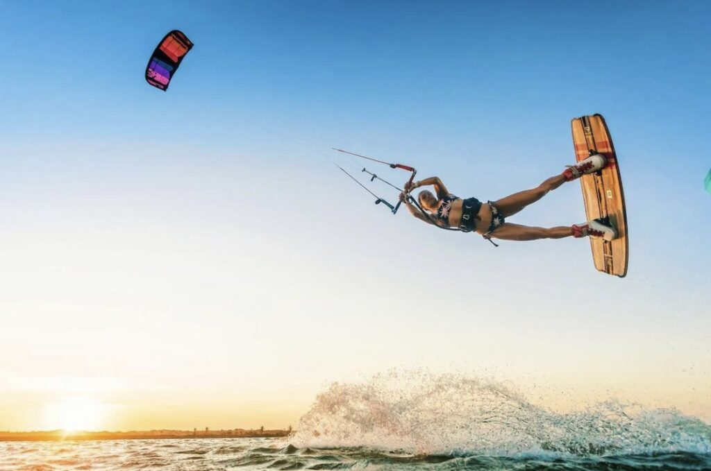 Kiteboarding all extreme