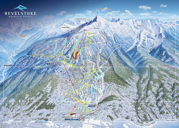 revelstoke ski map