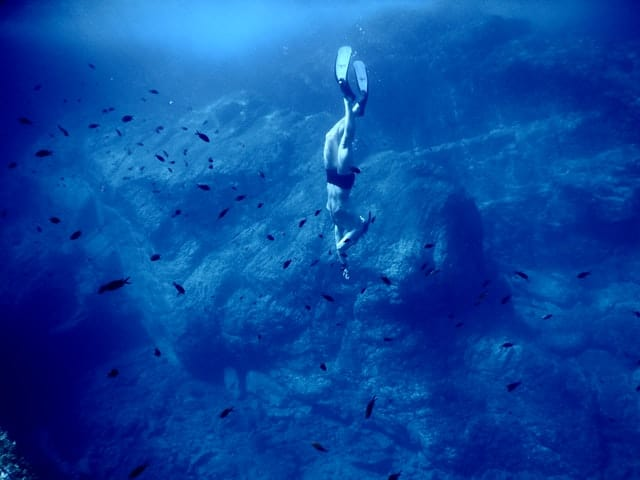 free diving - all extreme