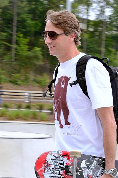 Tony Hawk skateboarder