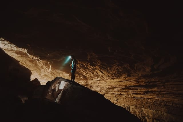 extreme sports - caving