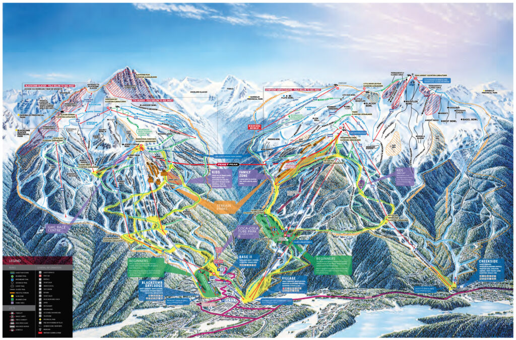 whistler blackcomb ski map