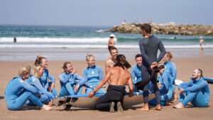 Groups surf