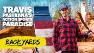 Travis Pastrana backyard Pastranaland