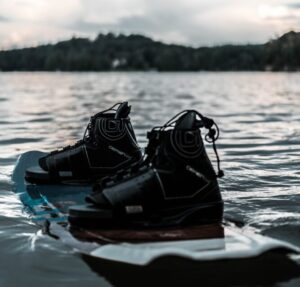 wakeboard and boots